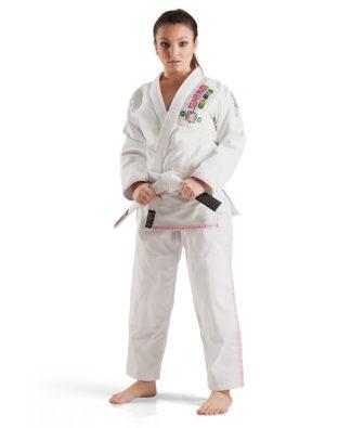 9c88cb95a Kimono Jiu-Jitsu Karate Judo Taekwondo Faixas Luvas SHIROI Kimonos