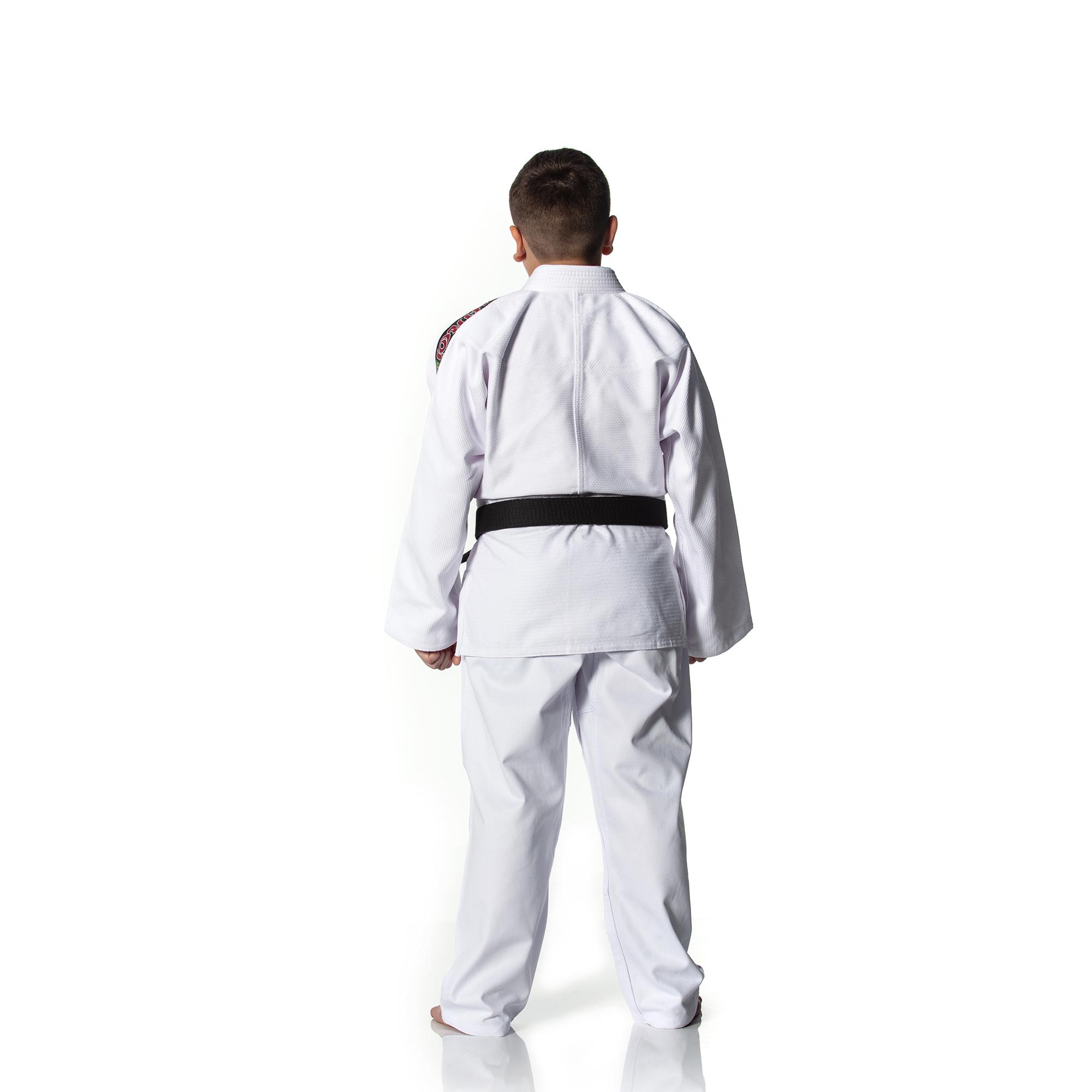 111ff65ed Kimono Shiroi Judô Standart Adulto - Branco - SHIROI Kimonos